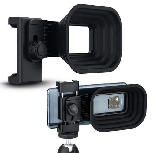 Clip Universel Support Pare-Soleil Anti-Reflet Avec Trépied Pour Smartphone